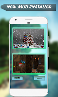 Creation Christmas House for Minecraft PE - náhled