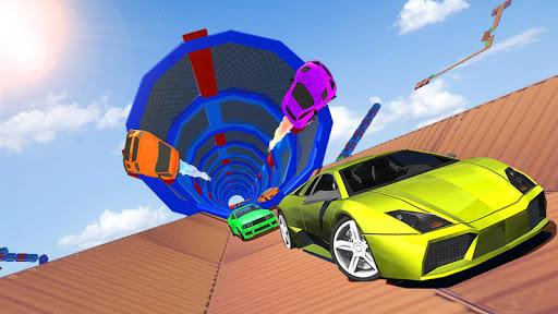 Impossible Tracks Car Stunts Driving: Racing Games apkslow screenshots 7
