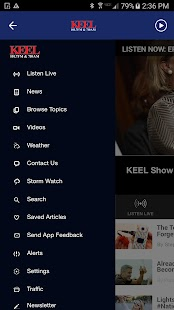 News Radio 710 KEEL - Shreveport News Radio- screenshot thumbnail