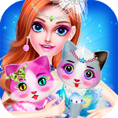 Princess and Cat Make up Salon