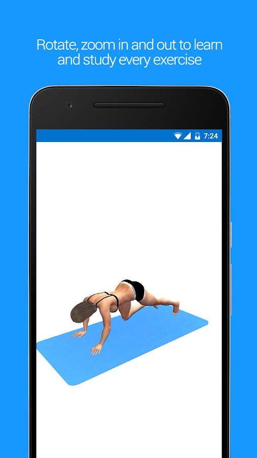 Appdominals Six Pack ABS in 3D- screenshot