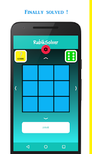 RubikSolver - náhled