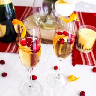 Cranberry Orange Thanksgiving Mimosa Recipe