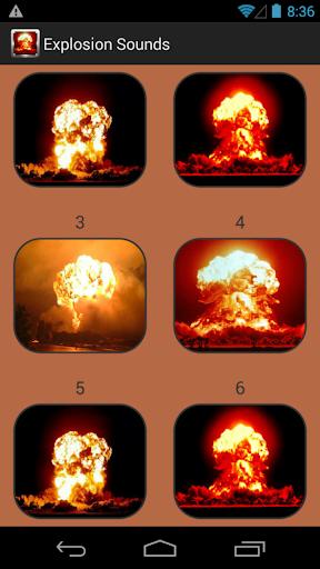 爆発音コレクション