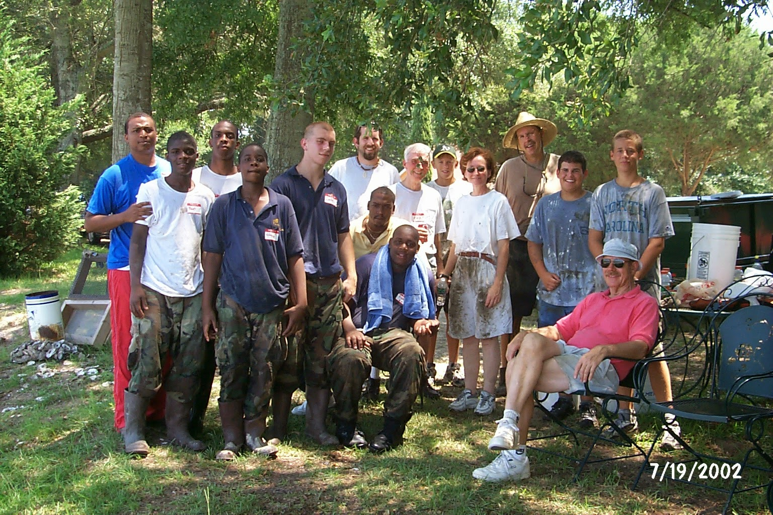 Photo: Volunteers at Chowan Creek