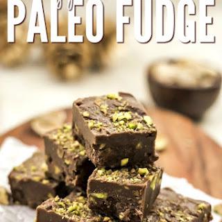 Healthy Pistachio Chocolate Paleo Fudge Recipe