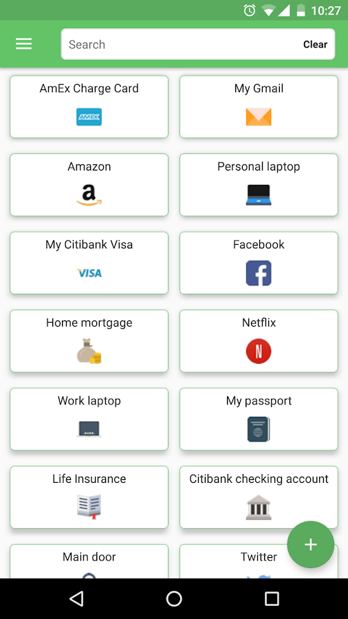 HexaVault Password Manager, Personal Info Locker- screenshot