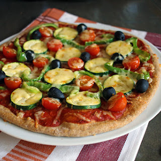 Homemade Vegan Spelt Pizza Crust.