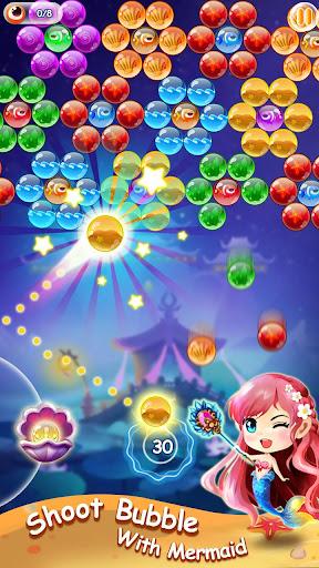 Mermaid Bubble Shooter Ball Pop: Fun Game For Free 1.5 screenshots 4