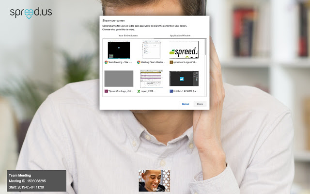 Screensharing for Vodafone Conferencing