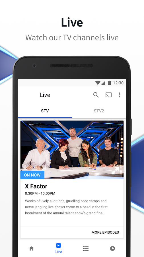 STV Player- screenshot