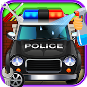 Police Car repair and wash