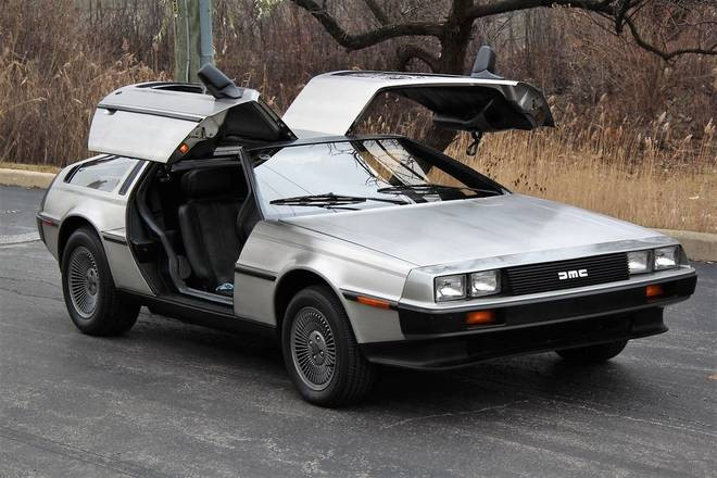 DMC Delorean Hire CA