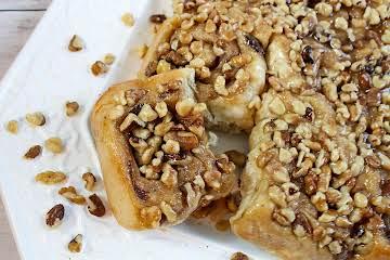 Banana Nut Sticky Buns for Bread Maker