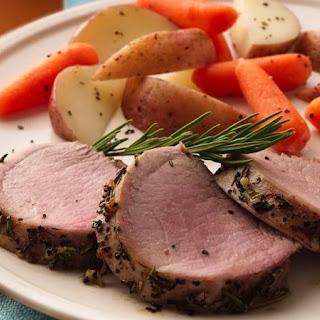Pork Tenderloin with Rosemary.