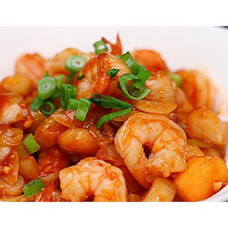 Easy Sweet & Sour Prawns