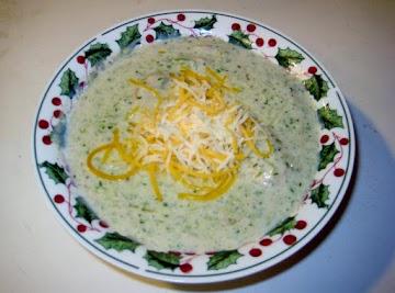 Broccoli/mushroom Chowder Recipe