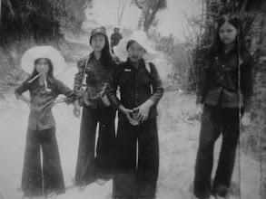 Photo: Cắm trại núi Châu Thới (Ảnh: Lê Chí Thành)