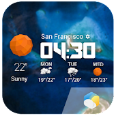 Daily&Hourly Forecast Widget❆