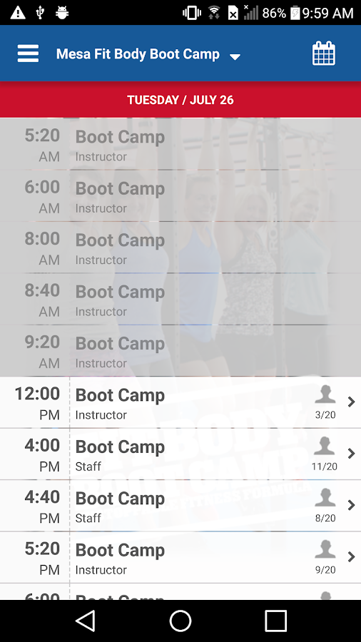 Fit Body Boot Camp Arizona- screenshot