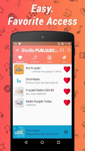 Punjabi Radio HD - Music & News Stations ss3