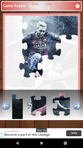 Lionel Messi Game Puzzle android2mod screenshots 4
