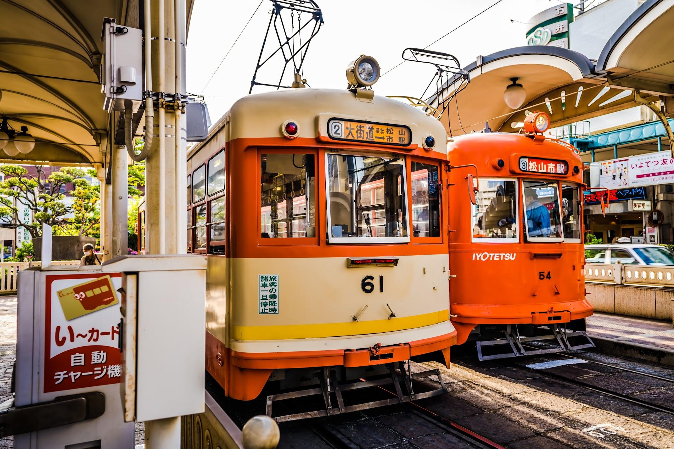 Matsuyama tram2