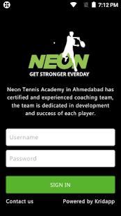 Neon sports academy - náhled