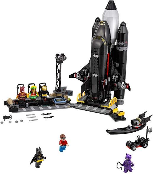 Contenido de Lego® 70923 Batlanzadera Espacial