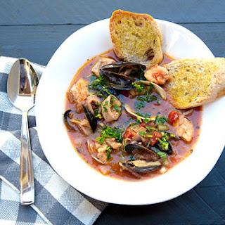 Italian Seafood Stew.