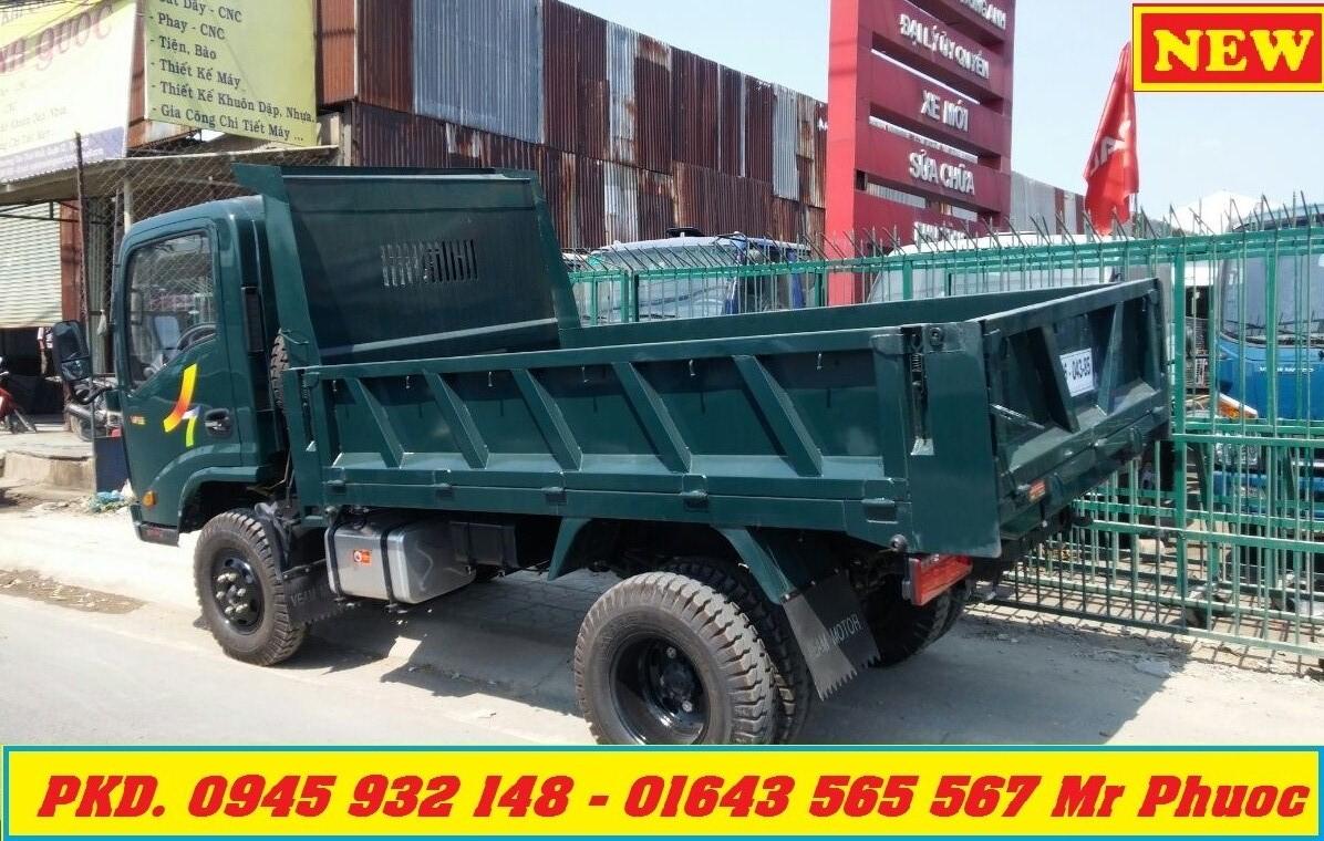 xe BEN 35 tan dong co HYUNDAI xe VEAM VB350 3T5 co may lanh giao xe ngay