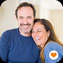 40+ Dating Mature Singles. Free Senior Meet & Chat icon