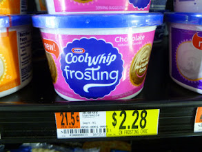 Photo: The Cool Whip Frostings come in at a reasonable $2.28.