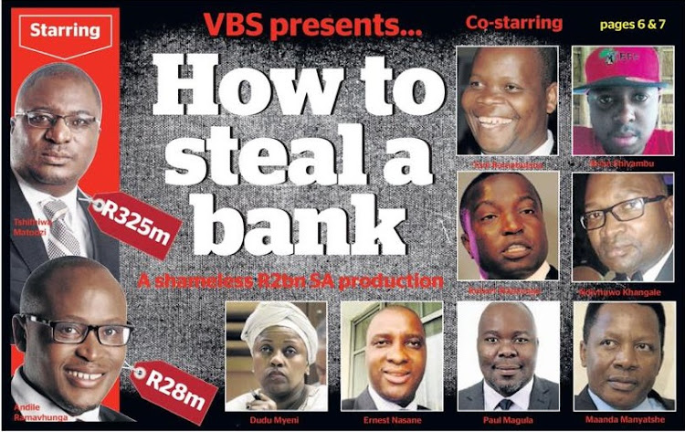 Brian Shivambu ,a man said to be EFF deputy president Floyd Shivambu's brother, VBS Mutual Bank chairperson Tshifhiwa Matodzi and CEO Andile Ramavhunga have been fingered to be at the centre of the grand scale looting at the bank.