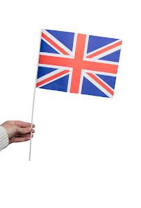 Pappersflagga, Storbritannien