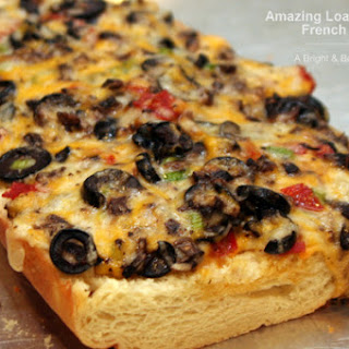 Amazing Loaded Cheesy French Bread