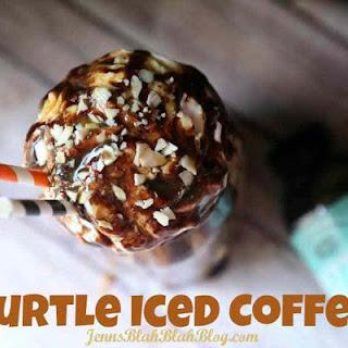 Turtle Iced Coffee.
