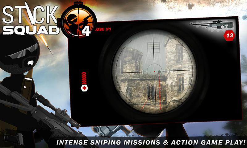 Stick Squad 4 - Sniper's Eye- screenshot