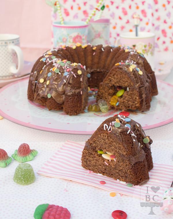Piñata Bundt Cake