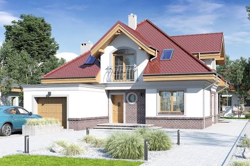 projekt Nowa II z garażem 1-st. A1
