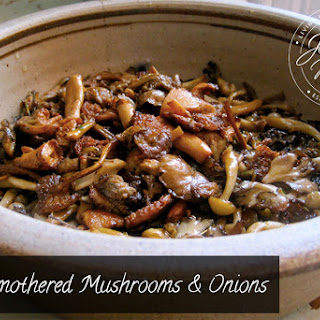 Rosemary's Smothered Mushrooms and Onions