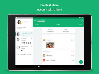 Spendee - budgeting app, expense tracker & planner- screenshot thumbnail