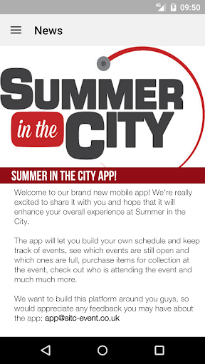 Summer in the City 2015