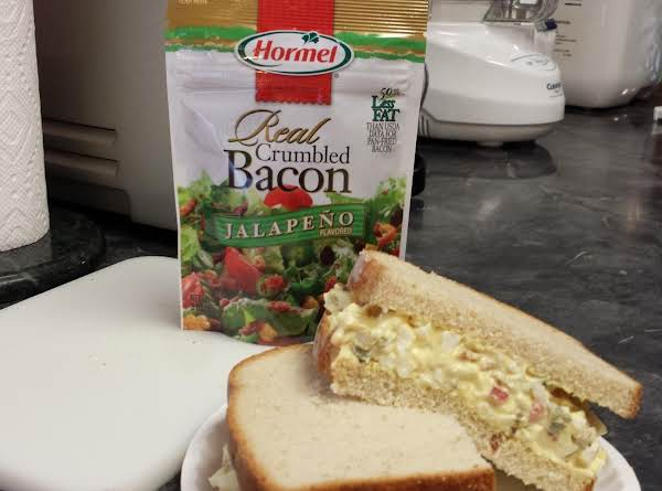 Kicked-up Egg Salad Recipe