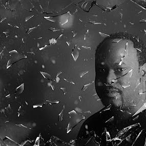 Broken Mold by Sean Walker - People Portraits of Men ( headshot, male, broken mold, effects, portrait )