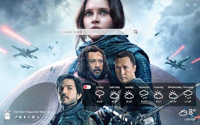 Star Wars 'Rogue One' New Tab, Wallpaper