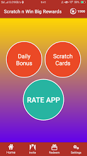 App Scratch to win big rewards - Make money online APK for Windows Phone
