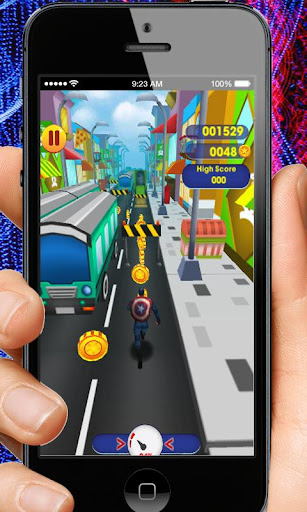 Captain Hero Subway Run Rush 2.0 screenshots 7