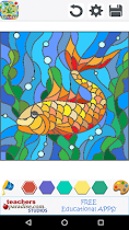 Stained Glass Coloring Book - screenshot thumbnail 03