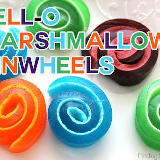Jell-O Marshmallow Pinwheels Recipe
